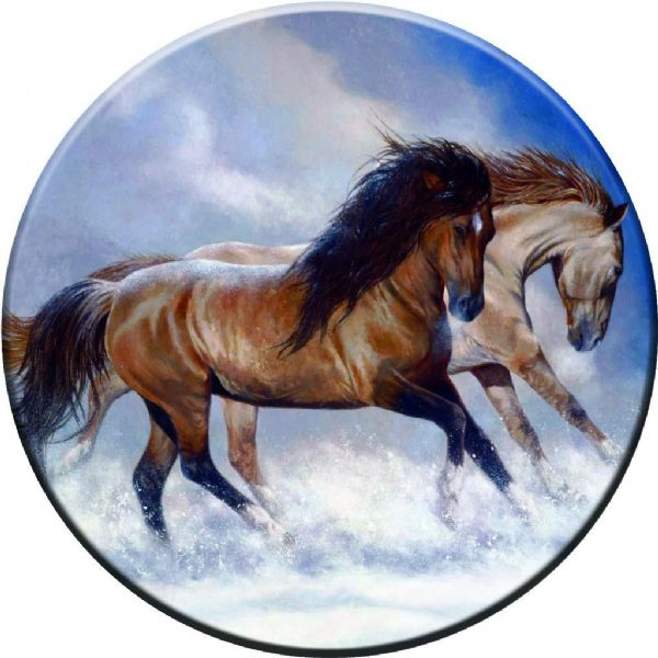HORSES 4x4 Semi-Rigid Spare Wheel Cover